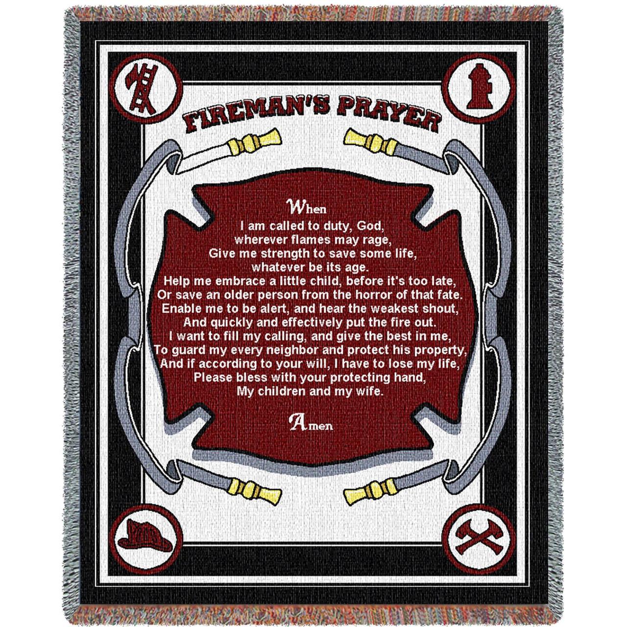 Fireman/'s Prayer Blanket
