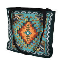 Painted Hills Sky Hand Finished Large Woven Tote Bag Cotton USA by Artisan Textile Mill Pure Country Weavers Tote Bag