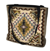 Painted Hills Sand Hand Finished Large Woven Tote Bag Made in the USA by Artisan Textile Mill Pure Country Weavers Tote Bag