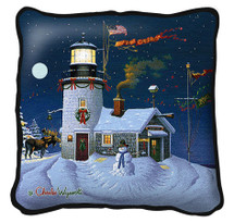 Take Out Window by Charles Wysocki Pillow