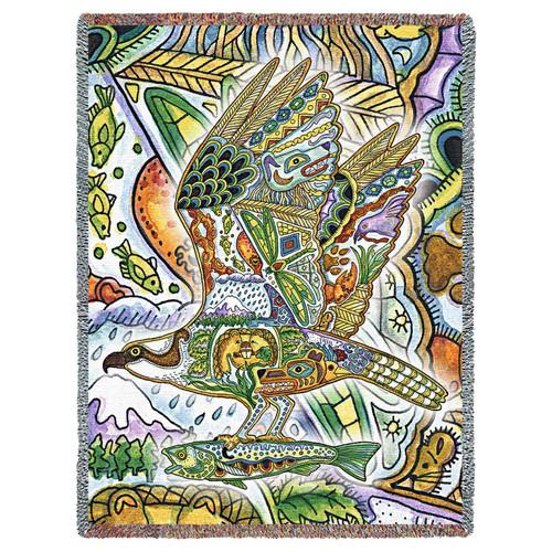 Osprey Tapestry Throw