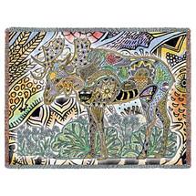 Moose Tapestry Throw
