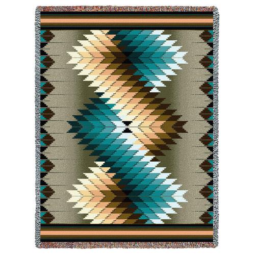 Whirlwind Smoke - Tapestry Throw
