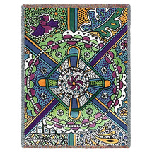 Roundabout Blanket Tapestry Throw