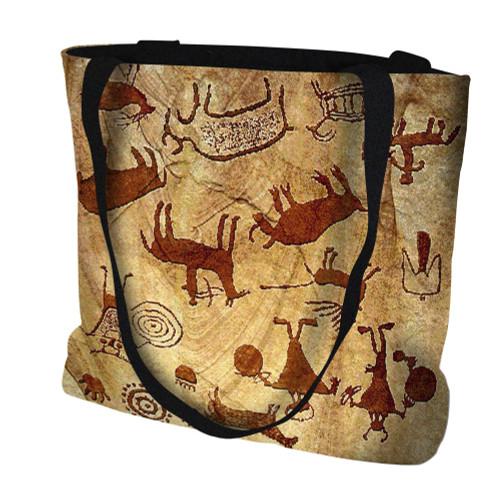 Rock Art of the Ancients Tote Bag