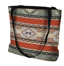Rimrock Hand Finished Large Woven Tote or Shoulder Bag with Magnetic Clasp 100% Cotton Double Sided Made in USA by Artisan Textile Mill Pure Country Weavers Tote Bag