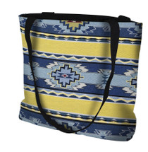 Rimrock Sun Hand Finished Large Woven Tote Bag Made in the USA by Artisan Textile Mill Pure Country Weavers Tote Bag