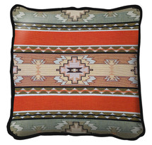 Rimrock Hand finished Woven Pillow by Pure Country Weavers.  Made in the USA.  Size 17 x 17 Woven to Last a Lifetime Pillow