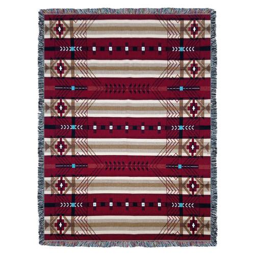 Antelope Ridge Flag - Tapestry Throw