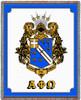 Alpha Phi Omega Crest Blanket