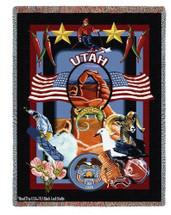 State of Utah - Tapestry Throw
