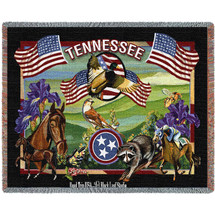 State of Tennessee - Tapestry Throw