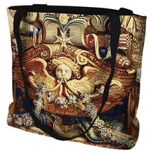 Portiere du Char de Triomphe Hand Finished Large Woven Tote or Shoulder Bag with Magnetic Clasp Made in the USA by Artisan Textile Mill Pure Country Weavers Tote Bag