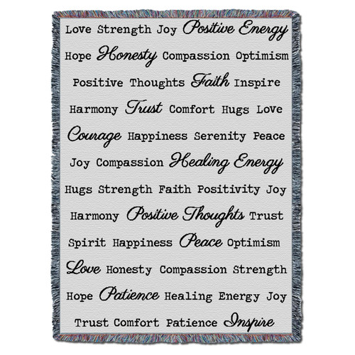 Pure Country Weavers   Comfort Blanket   Super Soft Extra Large 72x54   Cotton with Textured Designer Pattern   Gift Throw   Get Well Soon Gift for Women Men Cancer Patient Tapestry Throw