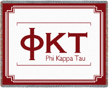Phi Kappa Tau Throw Blanket