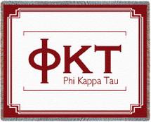 Phi Kappa Tau Throw Blanket