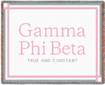 Gamma Phi Beta Throw