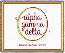 Alpha Gamma Delta Throw