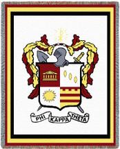 Phi Kappa Theta Tapestry Blanket