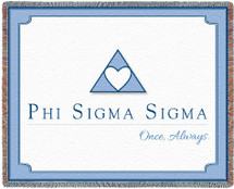 9017-T Phi Sigma Sigma Tapestry Throw