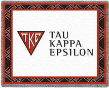 Tau Kappa Epsilon Tapestry Throw