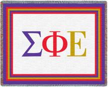 Sigma Phi Epsilon Tapestry Throw