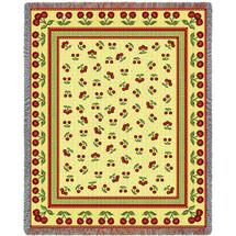 Cherries Jubilee Blanket Tapestry Throw