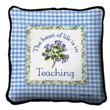 Heart In Teaching Pillow Pillow
