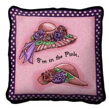 Im In Pink Pillow Pillow