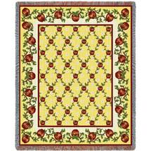 Apple Season Tapestry Throw