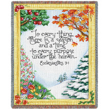 Everything Season Tapestry Throw