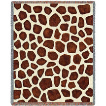 Giraffe Skin Blanket Tapestry Throw