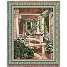 Vintage Comfort Blanket Tapestry Throw