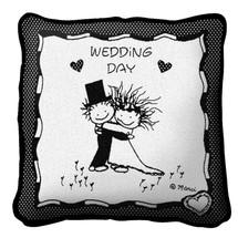 Wedding Day Pillow Pillow