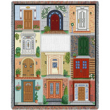 Come In Blanket Tapestry Throw