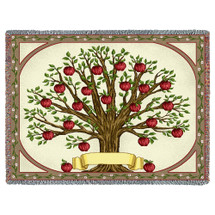 Family Tree Blanket Tapestry Throw
