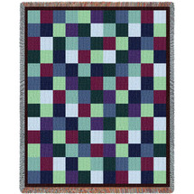 Patchwork Blanket Tapestry Throw