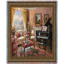 Music Room Tapestry Throw