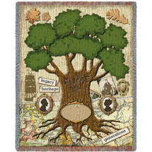 The Family Blanket Tapestry Throw