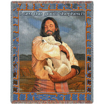 The Lamb Blanket Tapestry Throw
