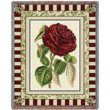 Red Rose I Blanket Tapestry Throw
