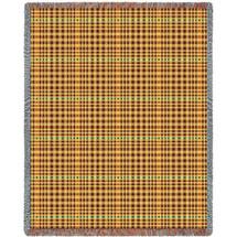 Herringbone Russet Blanket Tapestry Throw