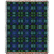 Blackwatch Plaid Tartan Blanket Tapestry Throw