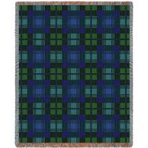 Blackwatch Plaid Tartan Blanket Tapestry Throw