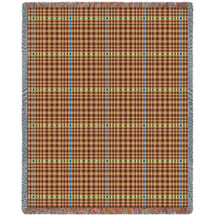 Herringbone Terra Blanket Tapestry Throw