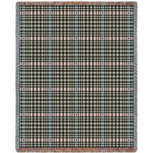 Herringbone Grey Blanket Tapestry Throw