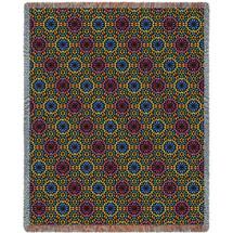 Flower Power Blanket Tapestry Throw