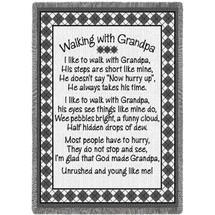Walking with Grandpa - Afghan