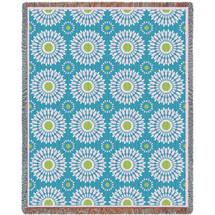 Blossom Whimsy Decor Blanket Tapestry Throw