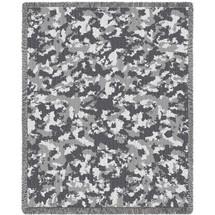 Camo Desert Blanket Tapestry Throw